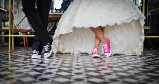 Wedding Shoes for Just a Touch of Contemporary