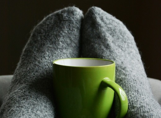 When hands and feet are cozy and warm you can enjoy cold winter weather.
