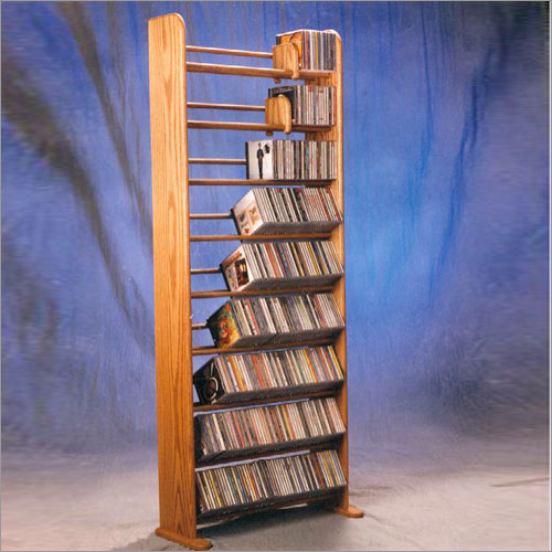 CD storage racks and cabinets are beautiful and practical