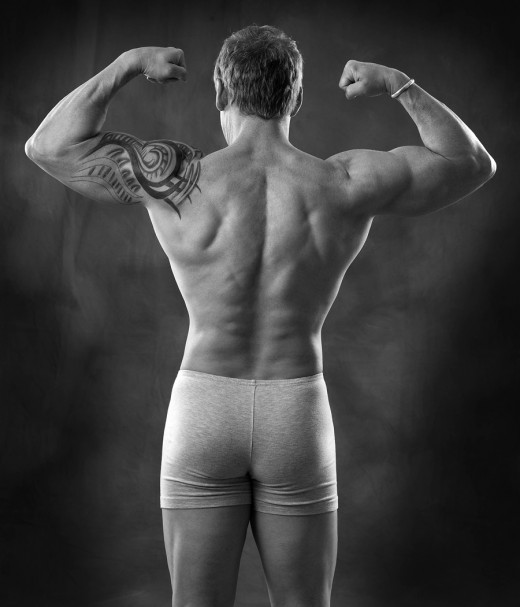 It does not take much work to build a muscular back...but you do have to train hard.