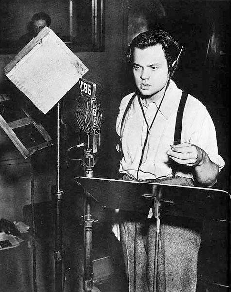 Welles Radio Studio 1938