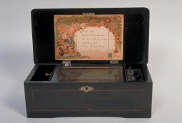 Antique music boxes can be worth thousands of dollars