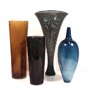 You can choose from any style, design, or type of glass vase