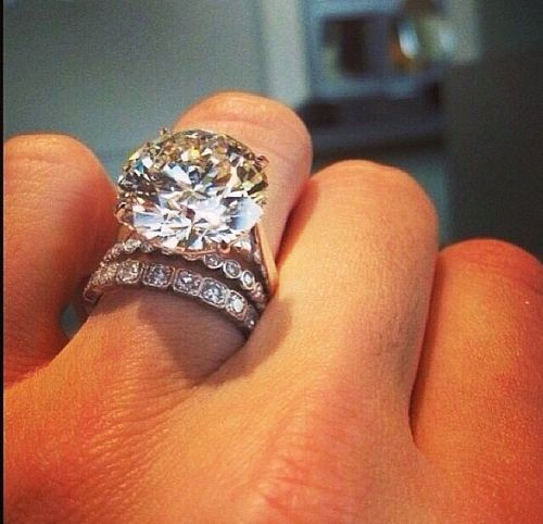 Like BIG? When it comes to marriage longevity, a big, flashy diamond might not be the best choice...