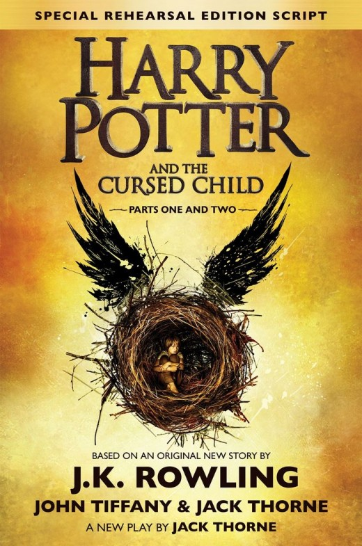 'Harry Potter And The Cursed Child' book cover