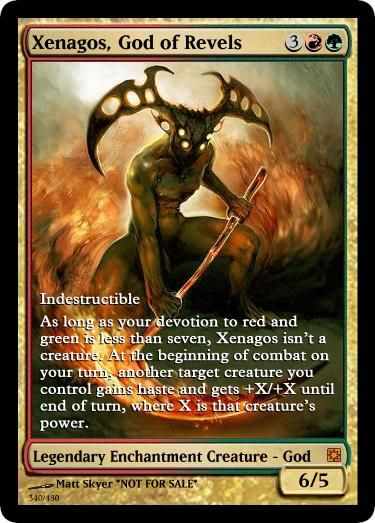 Xenagos, God of Revels alternate artwork
