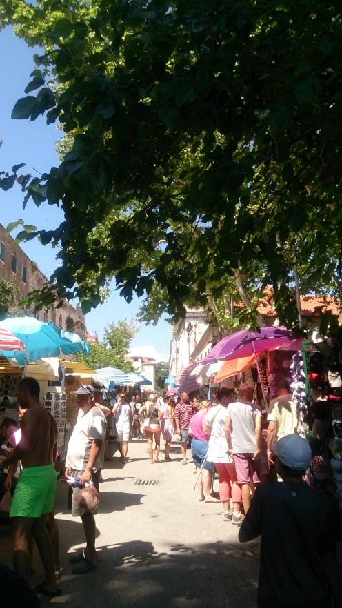 Bazaar in Split