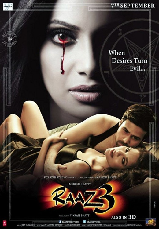 Raaz 3: The Third Dimension (2012) Bollywood Horror Movie