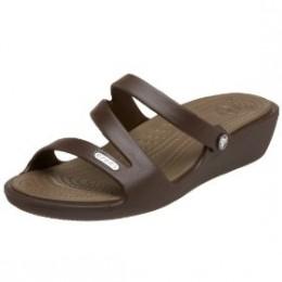 crocs Patricia Open Toe Wedge