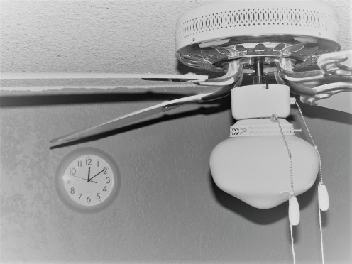 Be sure to run your ceiling fans during the warmer months and you won't have to turn the A/C unit down so low. This adjustment will surely save you money.
