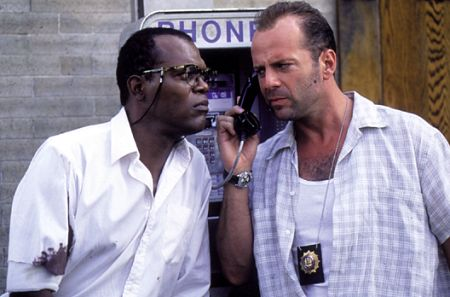 Zeus and McClane answer the phone