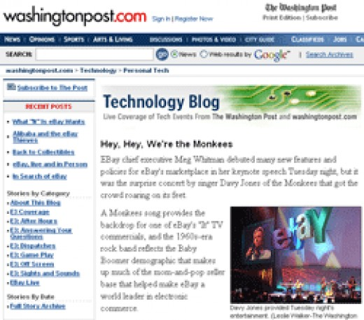 The Washington Post's Technology Blog on Events