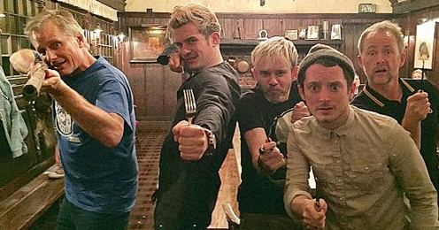 A recent photo from Dominic Monaghan's Instagram