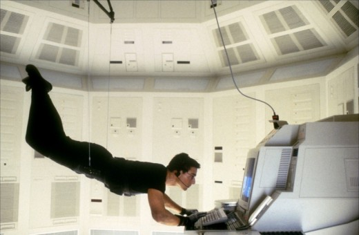 Cruise's determination to do his own stunts is commendable and provides the film with most of its spectacle.