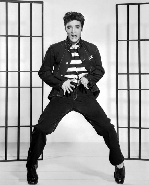 Elvis's PR persona was synonymous with a movie template that belied his acting potential