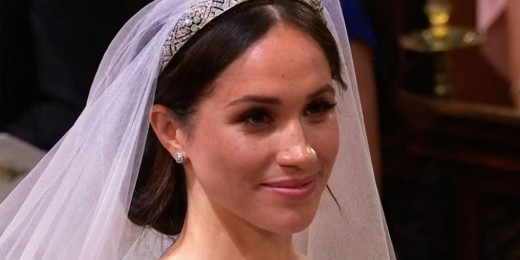 Meghan's makeup is classic! No blues, greens  for eyes, or shimmer;.
