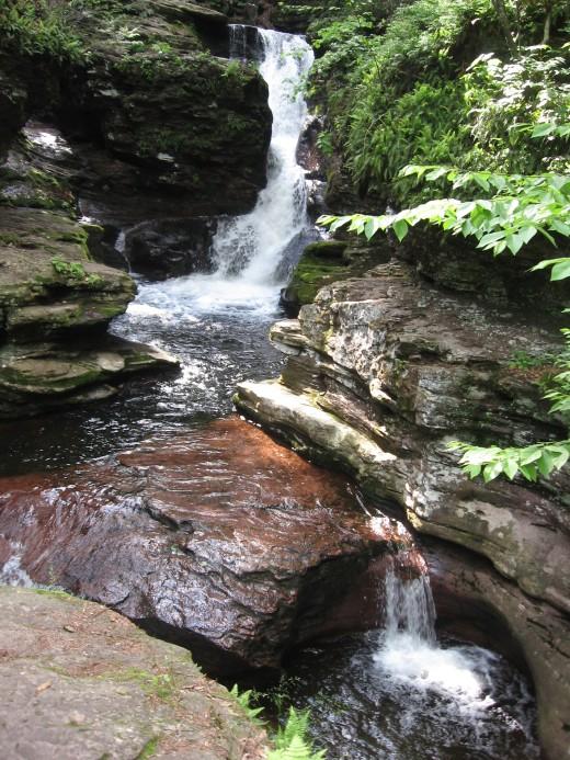 Adams Falls (36 feet)