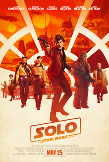 "Official Poster: ""Solo: A Star Wars Story"""