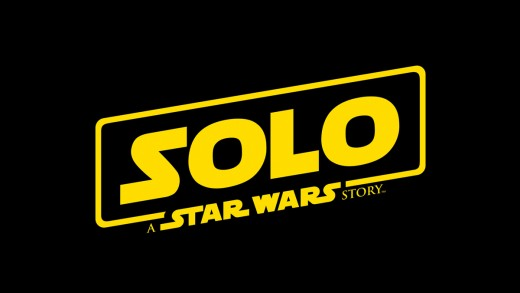 "Movie Title Screen: ""Solo: A Star Wars Story"""