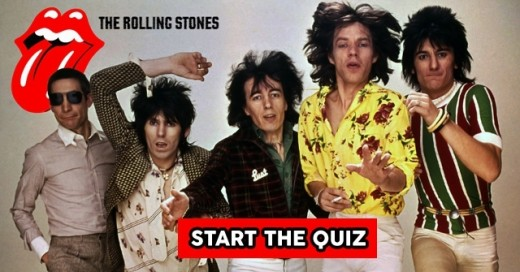 a colourful performer in the person of ex-Faces guitarist Ronnie Wood joined in 1974