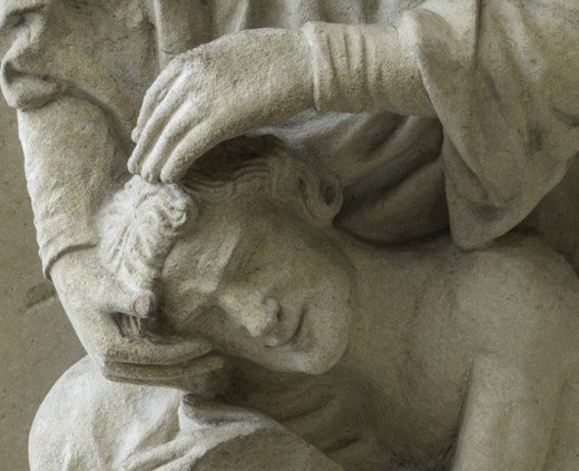 The Creation of Adam, Chartres Cathedral.