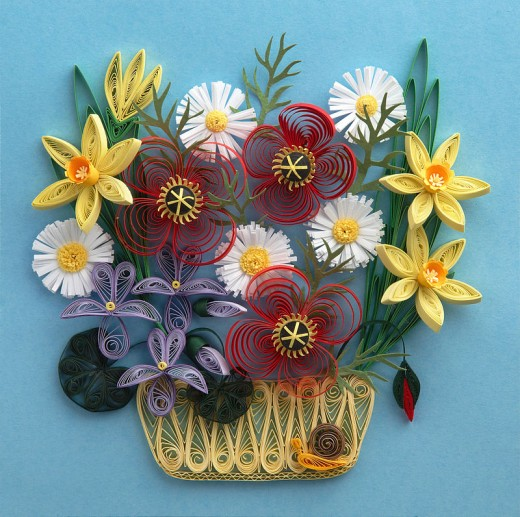Beautiful example of quilling