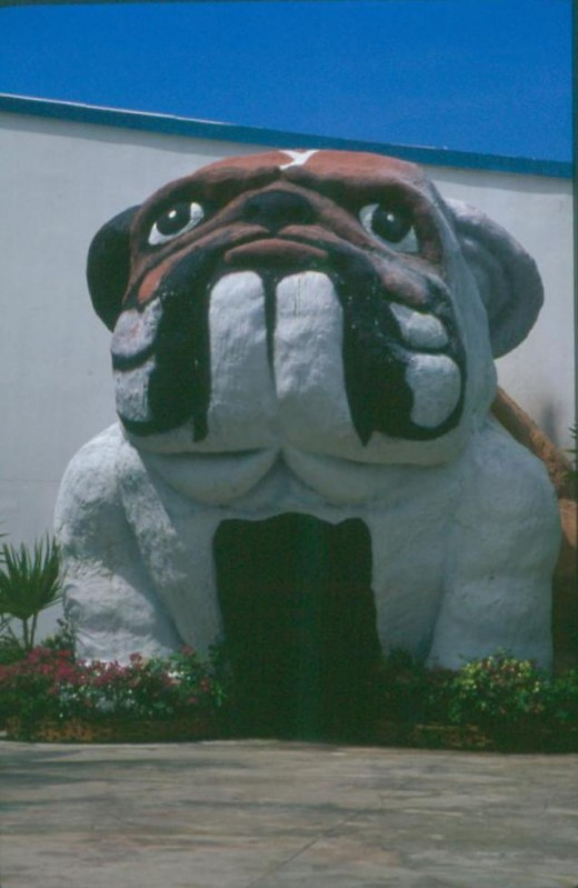 Larger Than Life Entrance To World of Dogs