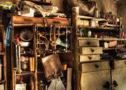 Living in a Hoarded Attic: A Poetic Metaphor