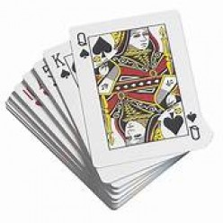 Behind The Card of Queen of Spades