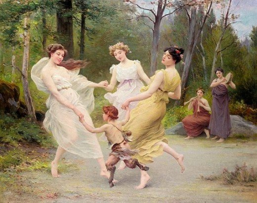 Painting - Jules Scalbert (1851-1928). Oil on Canvas. Classical, Academic, Neoclassical.