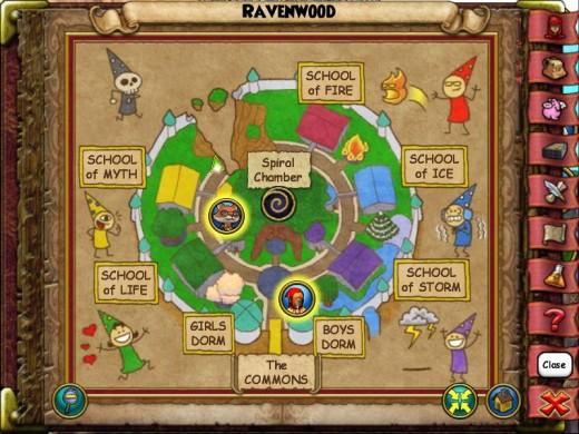 Ravenwood's Smith is hiding  ̶f̶r̶o̶m̶ ̶C̶y̶r̶u̶s̶ ̶D̶r̶a̶k̶e̶ behind the Myth school near the broken-off edge of Ravenwood and next to a bench.