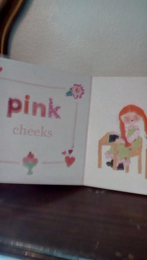 Anne's pink cheeks
