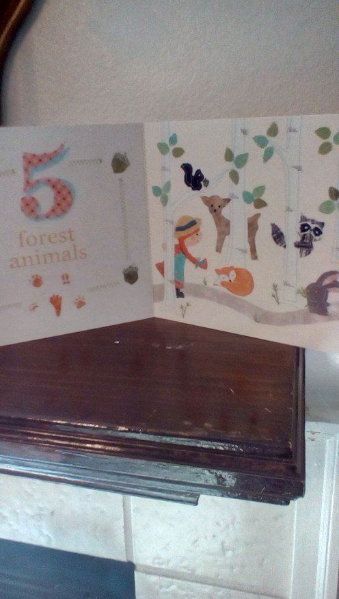 Five forest animals