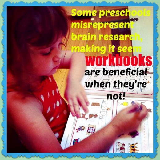 Contrary to what some parents believe, paper-pencil tasks are not supported by the latest findings in neuroscience. In fact, the opposite is true.