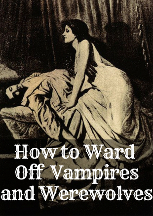 Do not be afraid of the undead...there are ways to ward them off using ancient techniques.