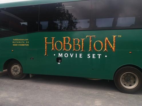 Hobbiton Movie Set Tour Bus
