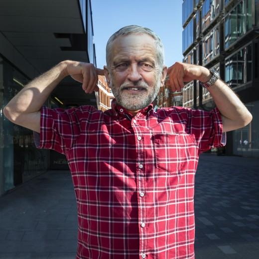 Labour leader:  Jeremy Corbyn.