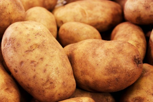 Potatoes - the core ingredient of many Irish dishes