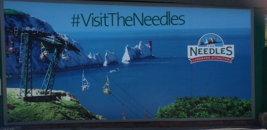 Entrance to Needles visitor centre