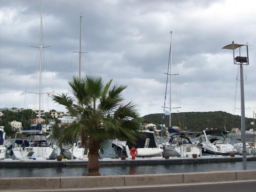 Mahon has a long harbour front
