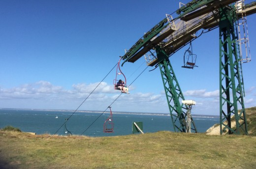 You can take a ride on this for a better view of the Needles but the day we visited it was very windy