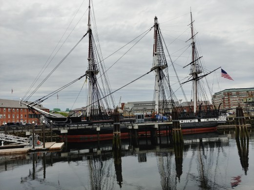 The USS Constitution, Known as Old Ironsides
