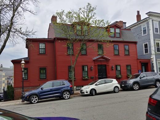 Uniquely Boston Architecture and Colors