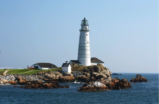 The Lighthouse Upon Great Brewster