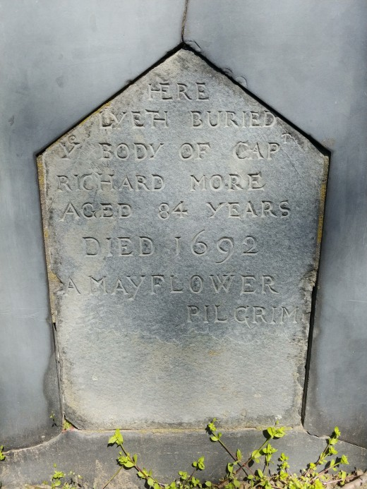 The Tombstone of Captain Richard More