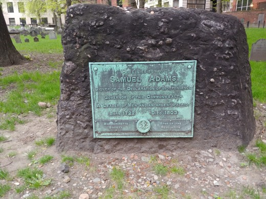 The Tombstone of Samuel Adams