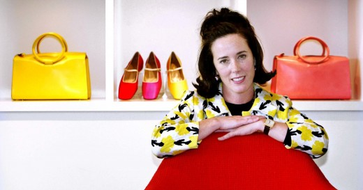 Kate Spade, the Capitalist Exploiter all women are supposed to care about.