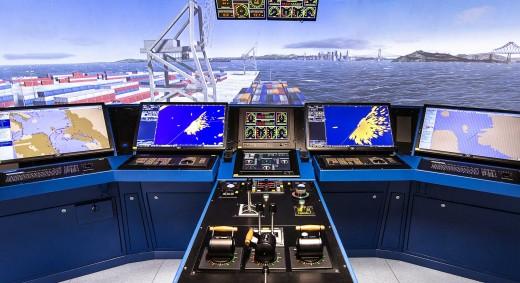 Ship Simulator Bridge