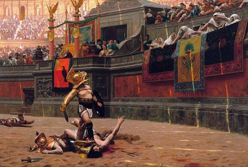 Were the ancient Romans evil for allowing and supporting gladiatorial events?