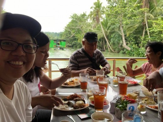 Floating Restaurant of Loboc River